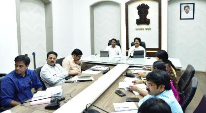 On 17.02.2020 District Collector, Joint Collector conducted Mandal level Video Conference.