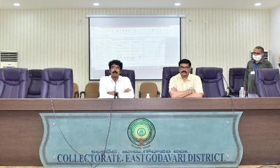 On 17.06.2020 District Collector and District Revenue Officer conducted counseling for VRAs to promote as VRO ( Grade-2) at vidhana Gowtham Hall at collectorate Kakinada