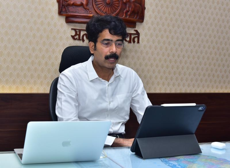 On 24.09.2020 District Collector conducted DIEPC Committee meeting with GM DIC and other officers concerned from collectorate Kakinada