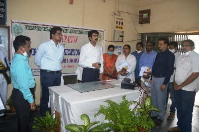On 03.12.2020 District Collector inaugurated Medical & Health wireless communication system at ITDA Rampachodavaram.