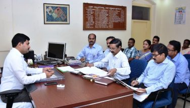 Joint Collector conducted review meeting with RDOs, Registration Department Officials