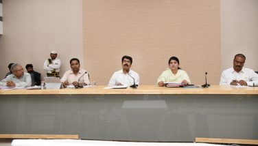 Sand meeting with Boatmen Association