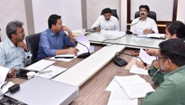 On 15.11.2019 District Collector and Joint Collector conducts review meeting on development work being carried at agency area. PO ITDA, Forest Department Officials participated