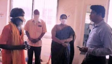 On 04.04.2020 Joint Collector visited rehabilitation centre at Amalapuram.