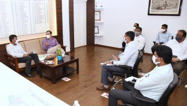 On 08.09.2021 Andhra Pradesh State Biodiversity Board Member Secretary met district collector and conducted review meeting at the Collectorate Kakinada. Joint Collector (Revenue), Kakinada Municipal Corporation Commissioner and other participated.