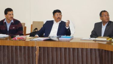 Review Meeting of Kumaon Commissioner
