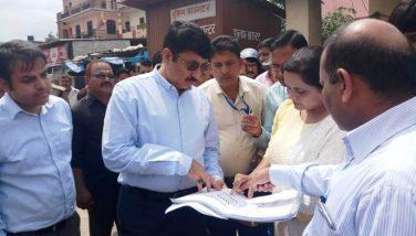 आयुक्त कुमायूंं मंडल का रामनगर दौरा