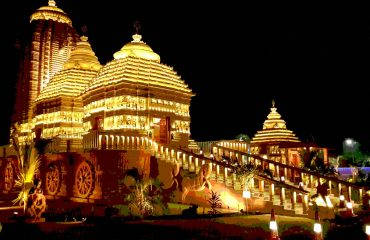 Emmami Jagannath Night View