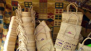 Cane and bamboo handicraft items of Mizoram