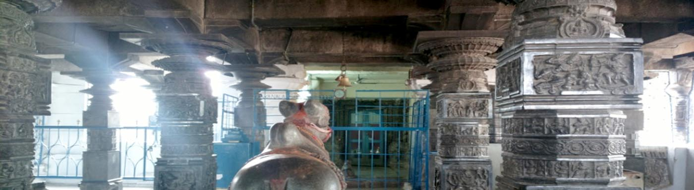 Panagal temple inner View