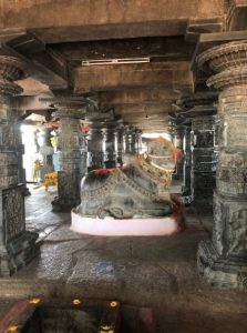Inner View of Pachala Someshwara Alayam