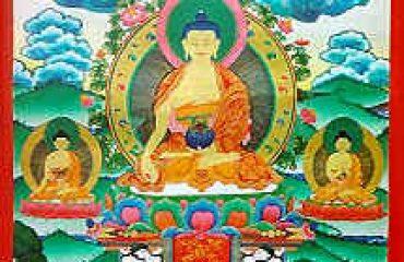 Lord Budh painting at Keylong