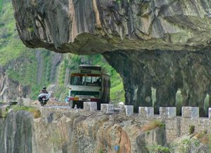Road to Kinnaur by Bus