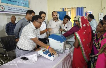 Creating awareness about EVMs and VVPATs on Korea Voter Day by Collector korea