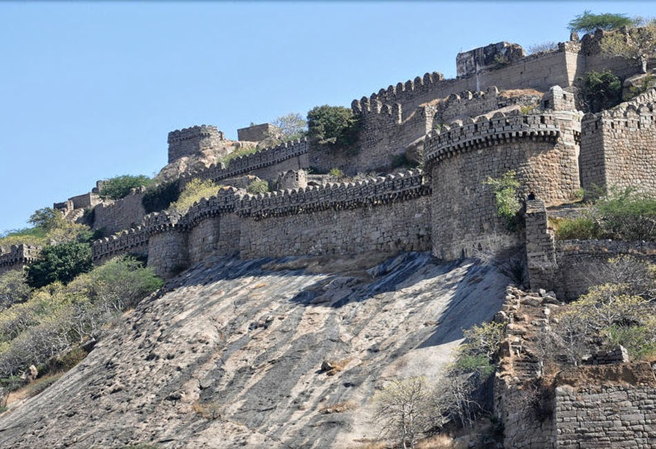 Fort side view