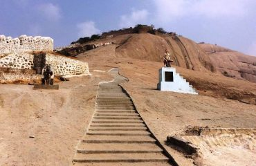 Bhonigir fort to reach the top