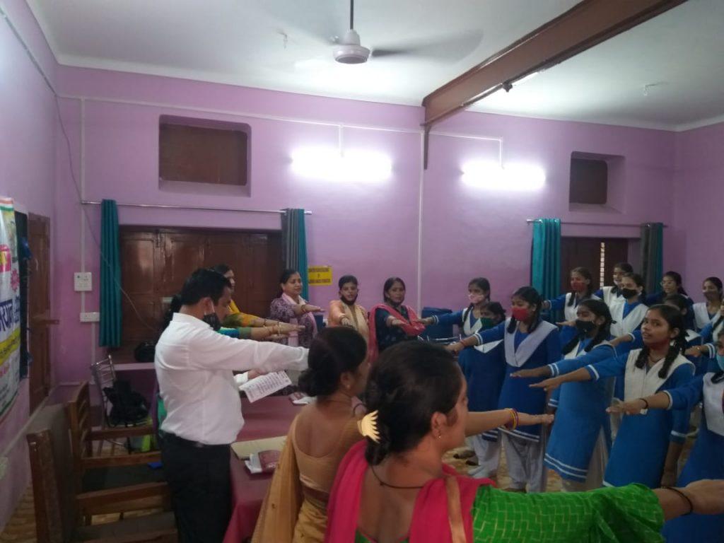विधानसभा 194 फर्रुखाबाद के अंतर्गत मदन मोहन कनोडिया बालिका इंटर कॉलेज फर्रुखाबाद में मतदाता जागरूकता अभियान कार्यक्रम दिनांक, 22 सितम्बर 2021