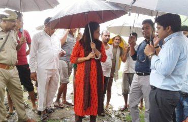 Flood Affected Village Nagla Khem Rangai and Village Katri Dharmpur