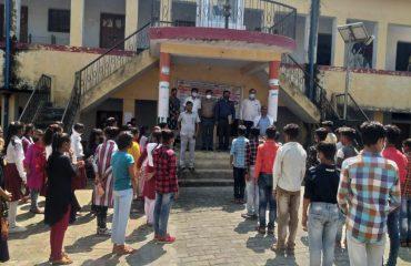 स्वीप कार्यक्रम -विधानसभा भोजपुर के अंतर्गत भारतीय इंटर कॉलेज महेश नगर मोहम्मदाबाद में मतदाता साक्षरता क्लब का गठन
