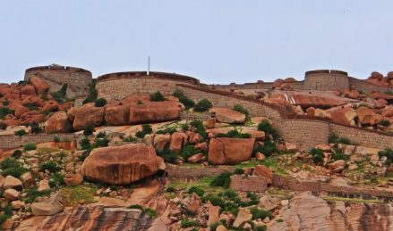 A view of Bellary fort