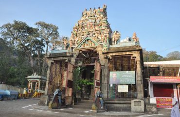 Front View of Courtalanathar Temple-1