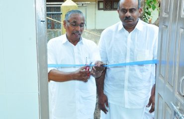 Inauguration event of Toilet and Dressing Room