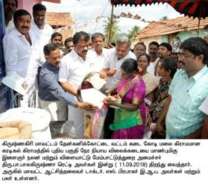 min ration shop opened