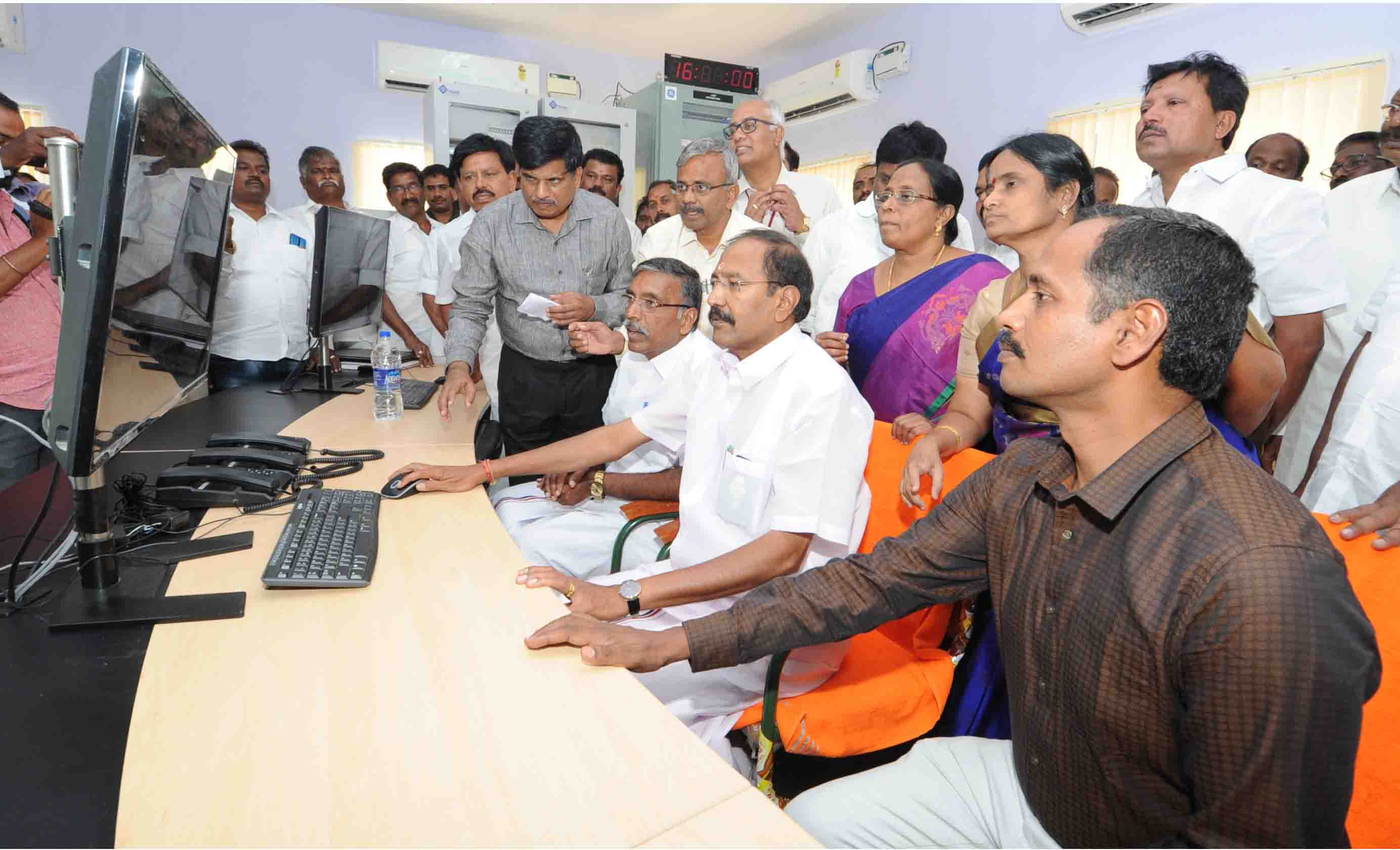 Hon'ble minister inaugurated SS