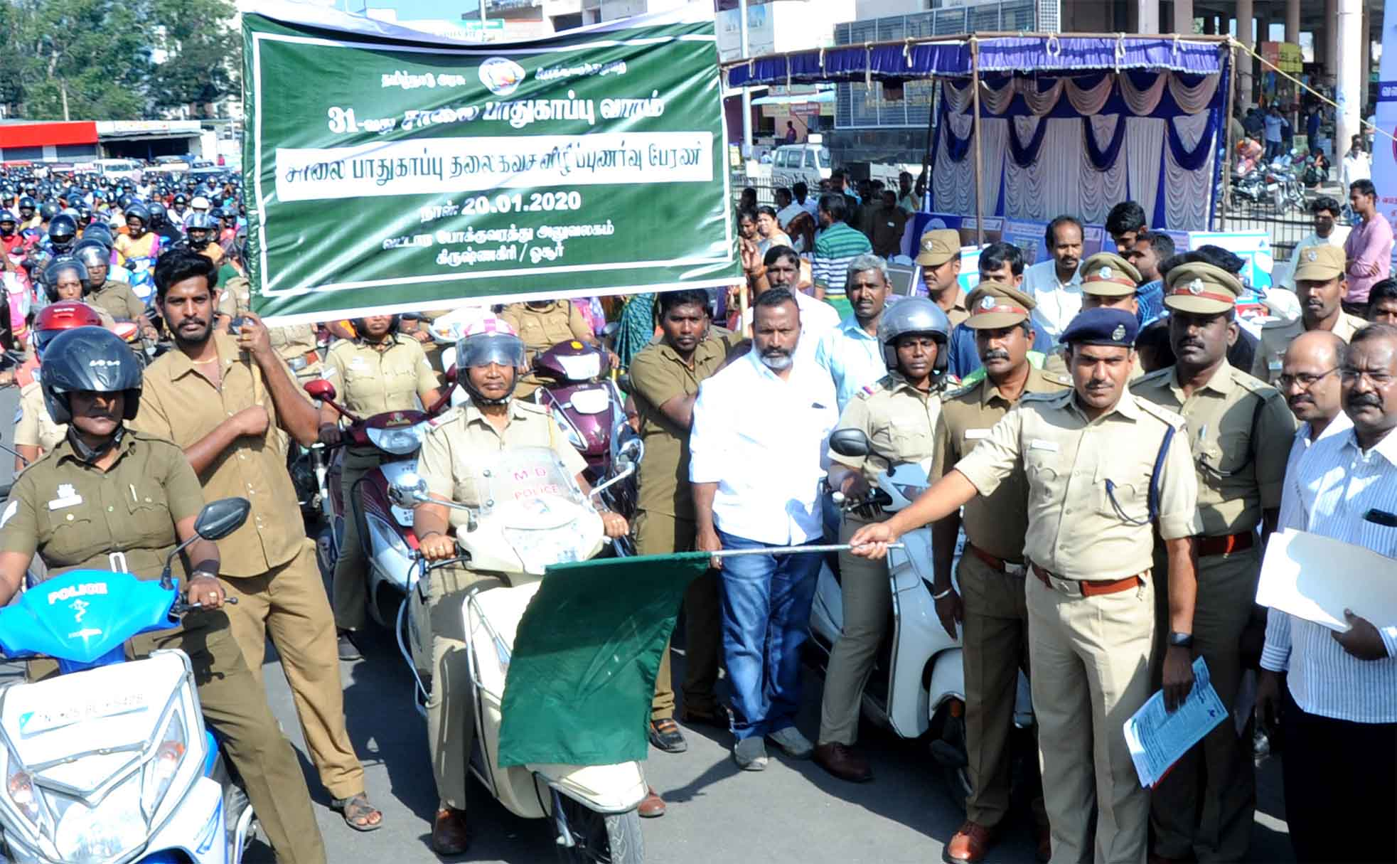road safety week inauguration