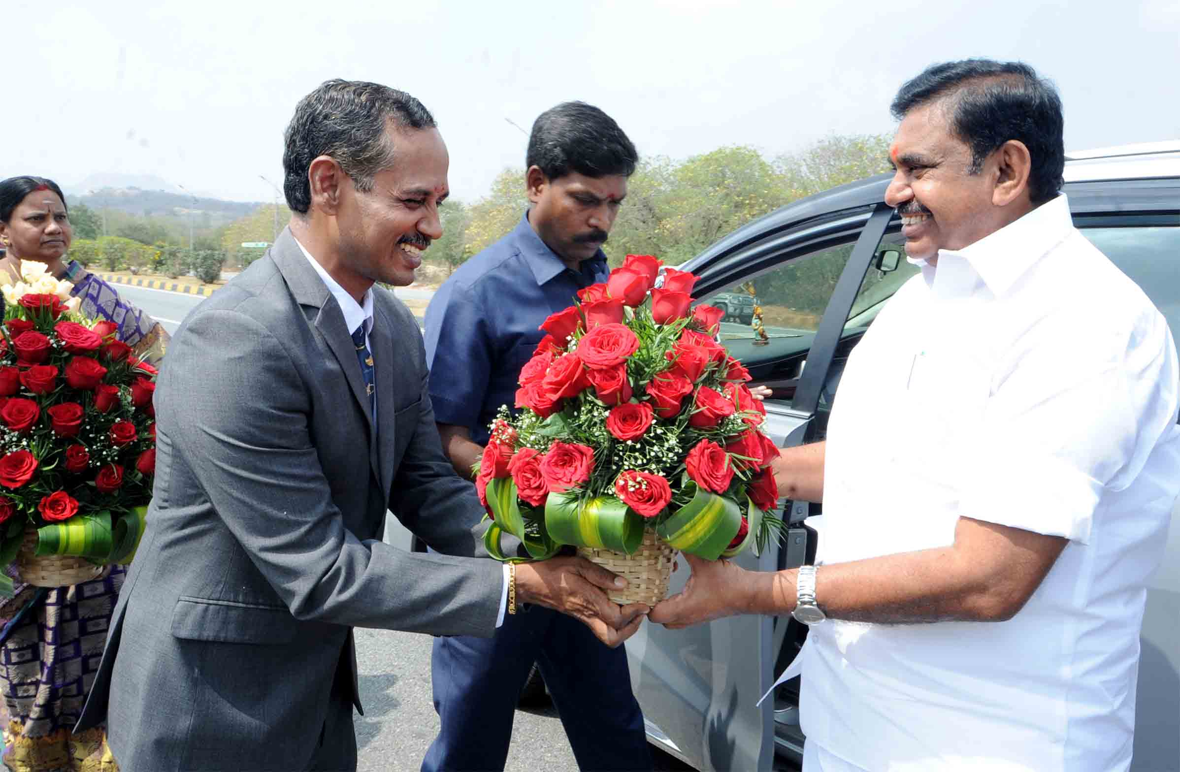 Hon'ble CM and collector