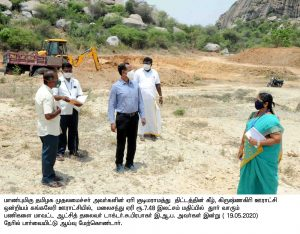 Collector Inspection Lake Desilting Works