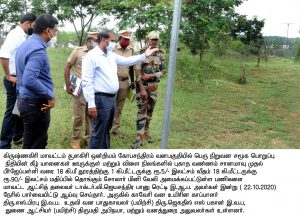 Collector Forest Department Inspection