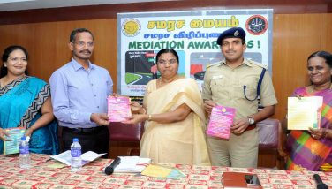 District collector inaugurated mediation awareness