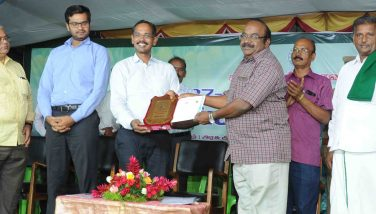 first prize for horticulture department