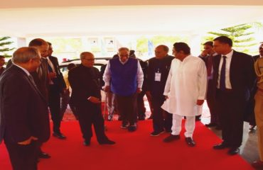Honorable President Visit at CII