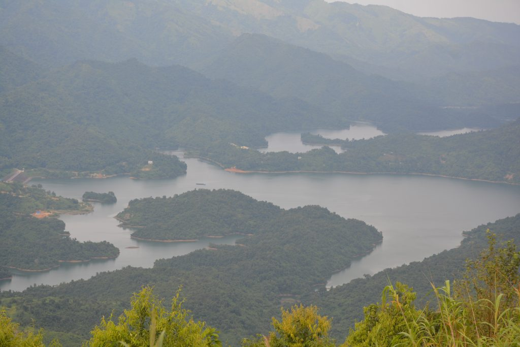 View of Doyang Dam