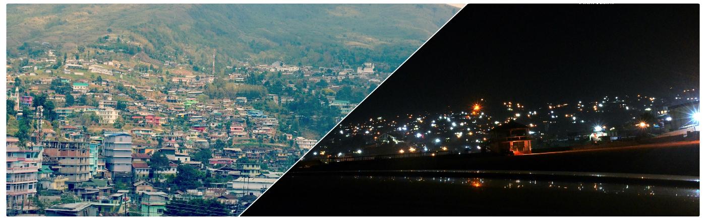 Banner Wokha Town