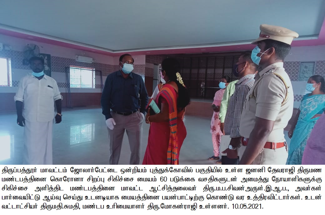 District Collector Inspection 10/05/2021