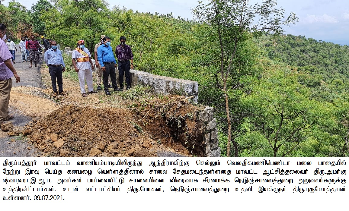 District Collector Inspection 09/07/2021