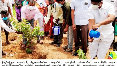 District Collector Inaugurated the Tree Plantation Programme 27/07/2021
