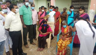 Collector Inspection Mega Covid Vaccination Camp