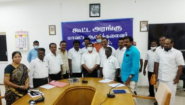 District collector issued the orders for the 10 legal officers