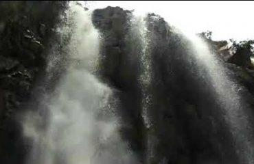Jhojha waterfall, about 45 km near Bastibgara Gram Panchayat, located at the end of Gorela Block