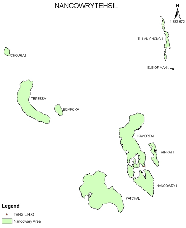 Nancowry Map Image