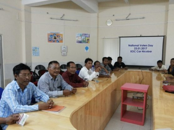 National Voters Day meeting Image