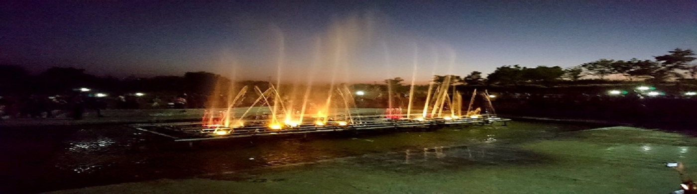 One of the attraction of Rajkot City is Musical Fountain in Iswariya Park