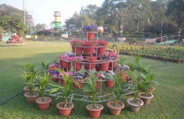 मैत्री बाग भिलाई  का बगीचा 1