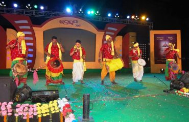 Artist from Kalahandi performed Ghumura Dance