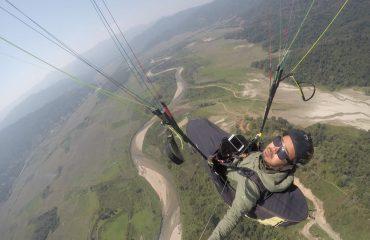 Para Gliding View