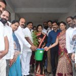 Collector and MLA distributed plants